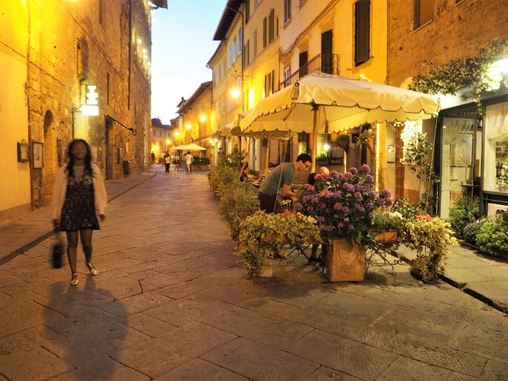 Montalcino by night