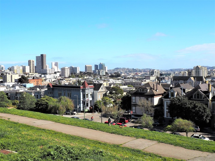 View from Alta Plaza